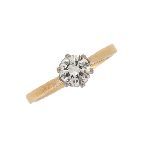 Secondhand Diamond Solitaire Ring
