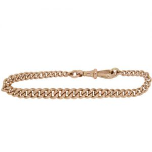 Edwardian Gold Albert Bracelet