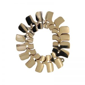 Pre Owned Georg Jensen Gold Archive Bracelet