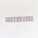Pre Owned Diamond Full Hoop Ring