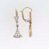 Edwardian Diamond Drop Earrings