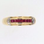 Pre-Owned Ruby And Diamond Ring
