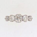 Victorian Graduated Five Stone Diamond Ring