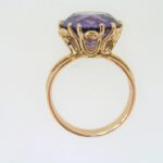 Pre Owned Synthetic Corundum Solitaire Ring