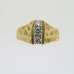 Pre Owned Three Stone Diamond Ring